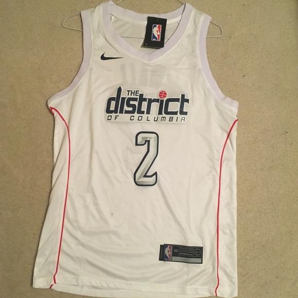 check out 84c56 1493c John Wall Wizards Basketball Jersey NWT